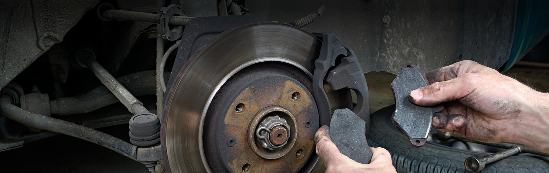 brake repairs for a car tyre